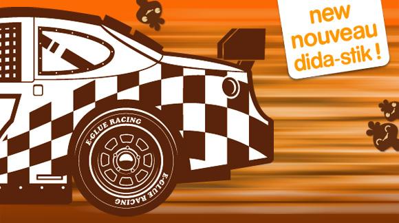 Car Racing Stickers Design Racing Car Sticker