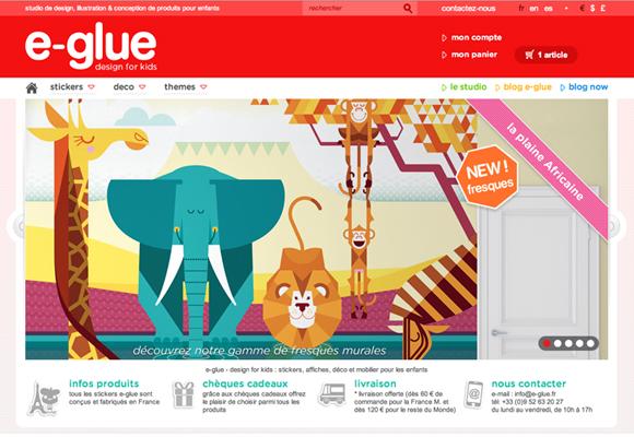 e-glue new website