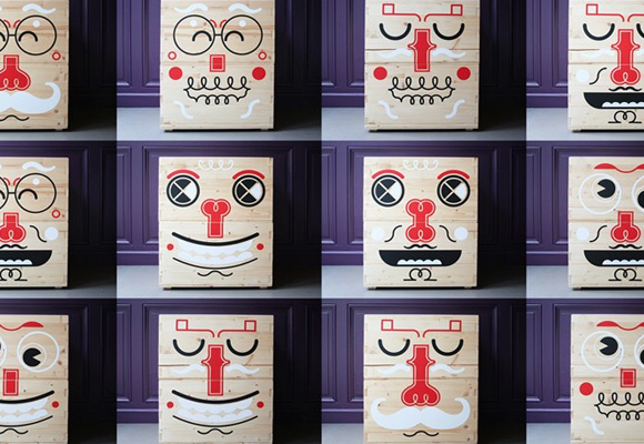 pilou faces kids toy storage boxes