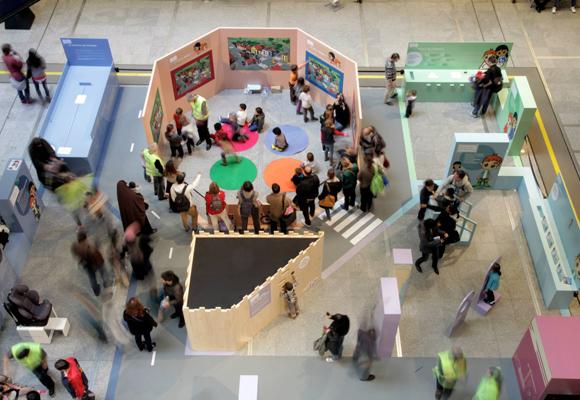 interactive driver educational children's exhibition
