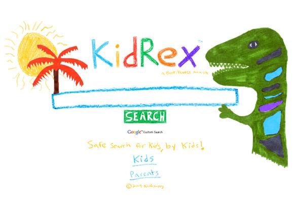 KID REX // kids search engine