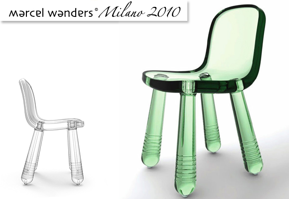 © MARCEL WANDERS for MAGIS // sparkling chair