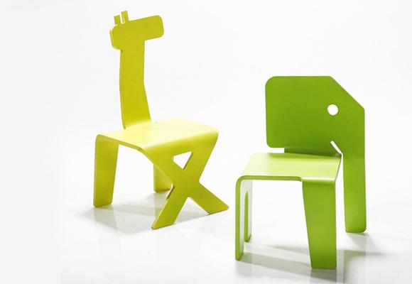 ELAD OZERI // giraffe & elephant chairs