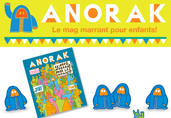 ANORAK MAGAZINE // French issue