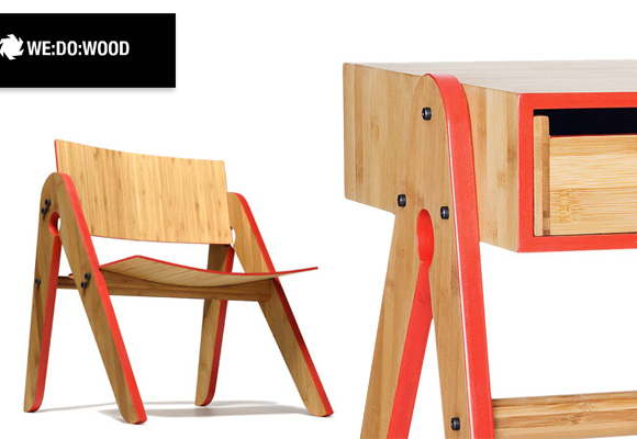 HENRY THYGESEN & SEBASTIAN JORGENSEN :: WE DO WOOD // chair & desk for kids