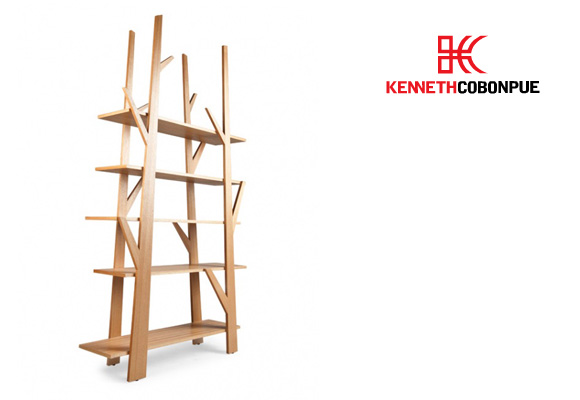 KENNETH COBONPUE // juniper bookshelf