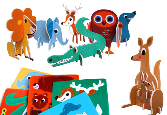 MAR MAR CO // set of 12 animals