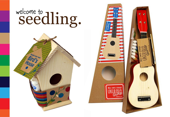 SEEDLING // your own birds house & crazy ukulele guitar