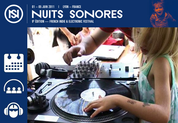 MINI SONORES :: NUITS SONORES // music festival 2011 - Lyon, France
