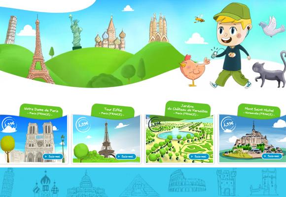 KIDSVISIT // travel audioguide for children