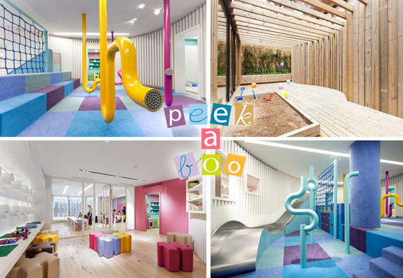 PEEK A BOO by GREEK STUDIO // modern daycare center design