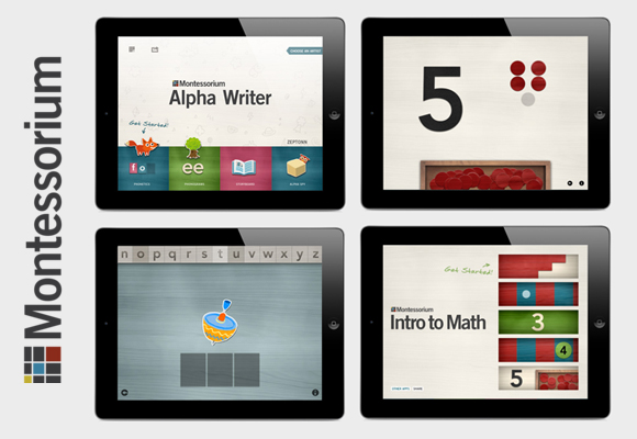 montessorium educational apps for kids