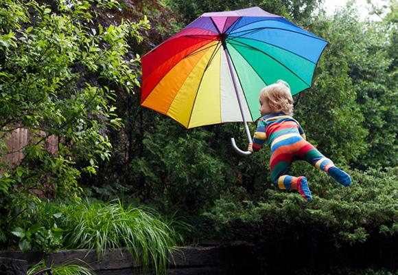 flying babies by Rachel Hulin