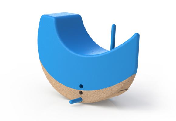 children rocking toy boat
