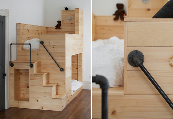 Unique Bunk Bed Designs union studio :: kids bunk bed design | now (for kids)