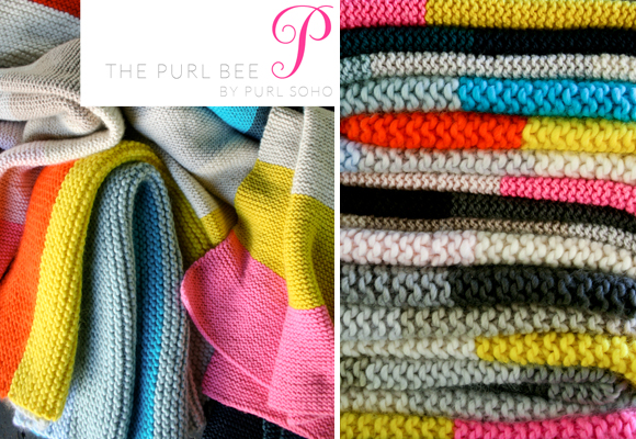Purl Bee Super Easy blankets for babies and kids