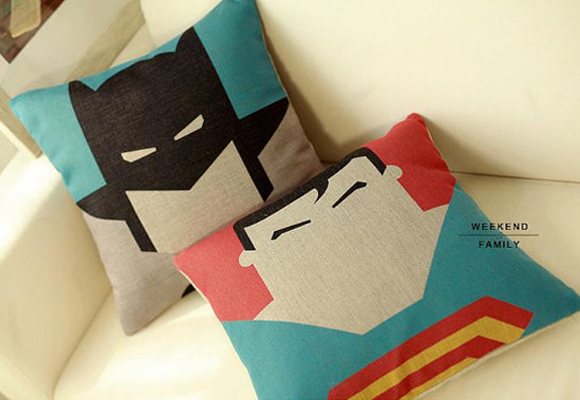 week-end family kids pillows