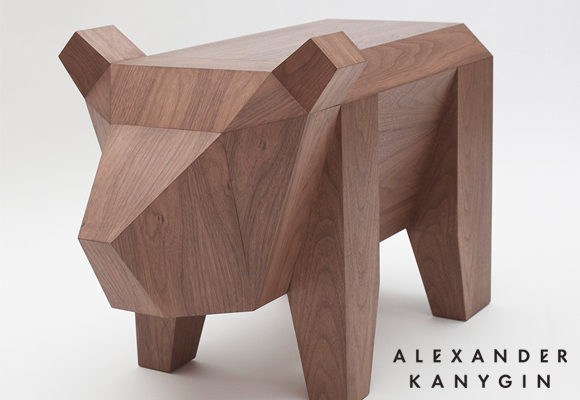 bear table furniture for kids room by Alexander Kanygin
