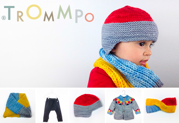 TROMMPO AW 2014 collection of kids clothes