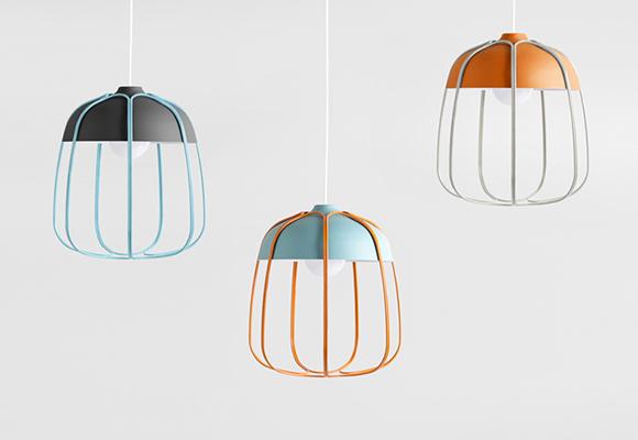 TULL LAMPE par TOMMASO CALDERA pour chambre enfants et bébés