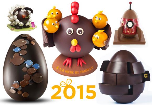 Les meilleurs oeufs de Pâques 2015 par de grands pâtissiers