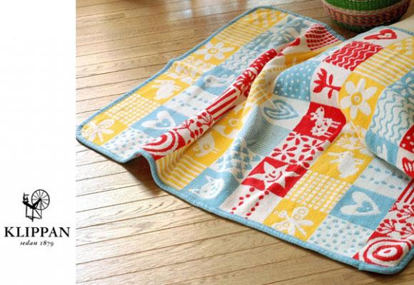 Mantas infantiles bebés de algodón organico, Quilt, por Klippan