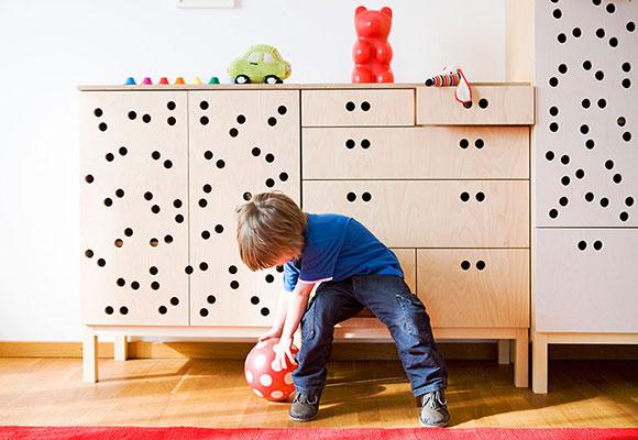 Collection de meubles pour chambres enfants Sixkid par Sixay