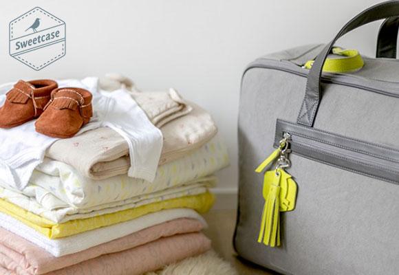 Valise de maternité et cadeau de naissance bébé par Sweetcase