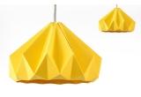 children origami lampshade chesnut snowpuppe (gold yellow)