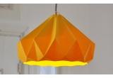 lámpara infantil origami chesnut snowpuppe (amarillo dorado)