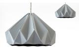 lampe origami enfants chesnut snowpuppe (gris)