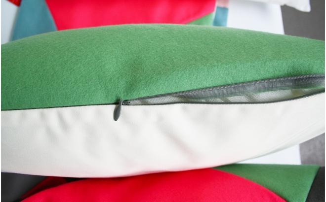 cushion circus jolie (grey)