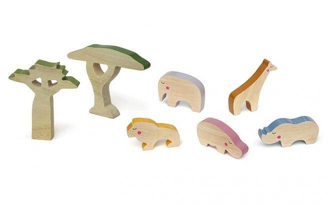 jouets enfants en bois cheekeyes kit savane