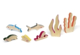 jouets enfants en bois cheekeyes kit fonds marins