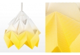 children origami lampshade moth gradient snowpuppe (gold yellow)