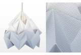 lámpara infantil origami moth gradient snowpuppe (gris)