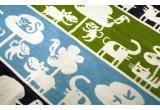 couverture coton bébé enfant klippan safari