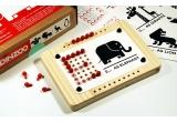 pinzoo juego educativo alfabeto infantil ecológico de madera