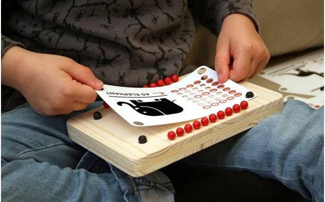 pinzoo jeu éducatif alphabet enfants écologique en bois