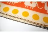 couverture coton bébé enfant klippan africa orange