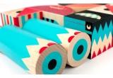 jeu de cubes de construction en bois stack and scare 4 par uncle goose
