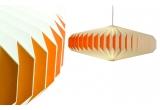 lampara infantil bebé origami akura A naranja por sentou