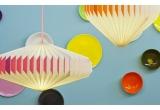 lampe enfant bébé origami akura A orange par sentou