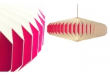 lampara infantil bebé origami akura A rosa por sentou