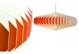 lampara infantil bebé origami akura A rojo por sentou