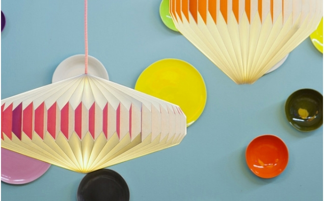 akura A baby kids origami light lamp by sentou