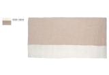 alfombra infantil rectangulo de fieltro natural beige Potala por Muskhane