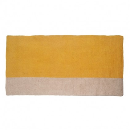 kids pollen felt rectangle rug Potala by Muskhane