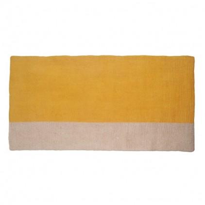 tapis enfant rectangle en feutre pollen Potala par Muskhane