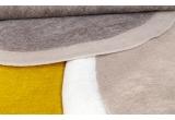 alfombra rectángulo de fieltro natural